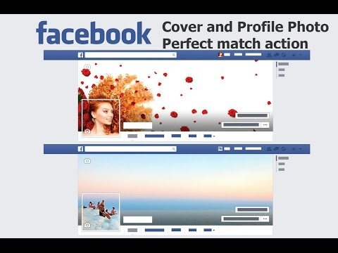 Facebook Cover/Profile Photo Maker - Ps Actions