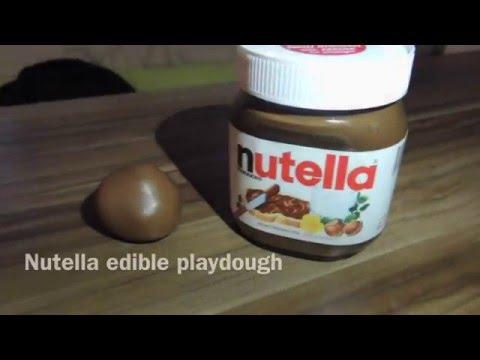 INSANE EDIBLE NUTELLA PLAY DOUGH -fullofusefulness