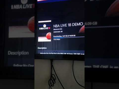 NBA LIVE 18 EARLY!! NEW ZEALAND HACK XBOX ONE!!