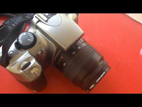 Cleaning Sticky Rubber Off Canon Rebel DS6041