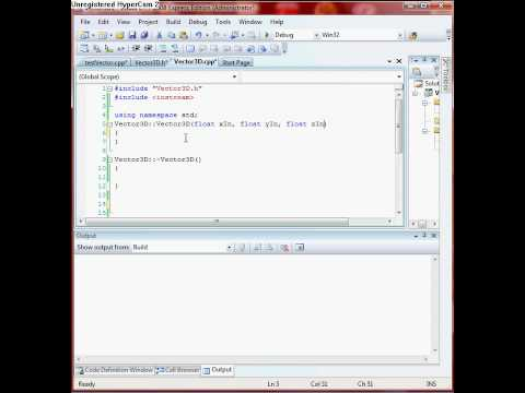 C++ Tutorial:: Adding vectors using operation overloading