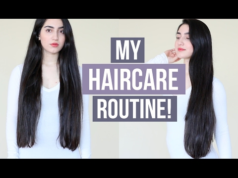 MY HAIRCARE ROUTINE For Long & Healthy Hair! (How To Grow Hair Fast)