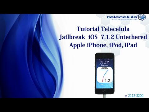 Como Fazer o Jailbreak Untethered no iOS 7.1.2 iphone 5S, 5C, 5, 4S, 4, iPad, iPad Air !
