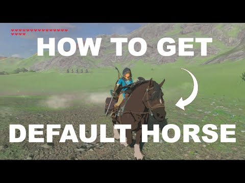 How to get Link´s default horse in Breath of the Wild