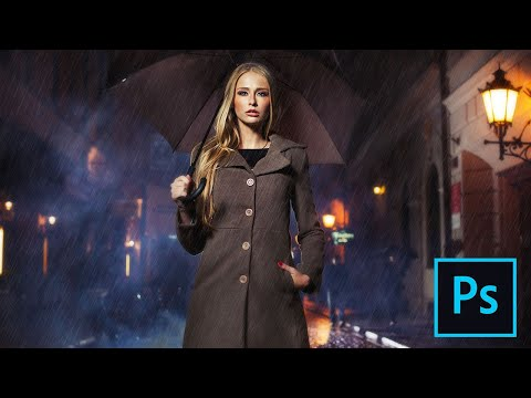 Add Rain to your Photos with Photoshop CC and CS6