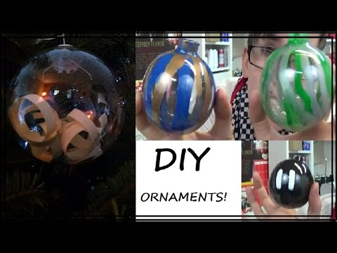 TUTORIAL!: Decorating Plastic Ornaments! | Sewing Nerd!