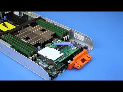 Dell EMC PowerEdge FC640: Remove/Install Mezzanine Card