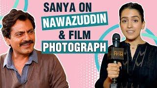 Sanya Malhotra REACTS On Working With Nawazuddin Siddiqui | Photograph