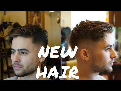 Modern Fringe Haircut | Easy Mens Summer Hairstyle 2018