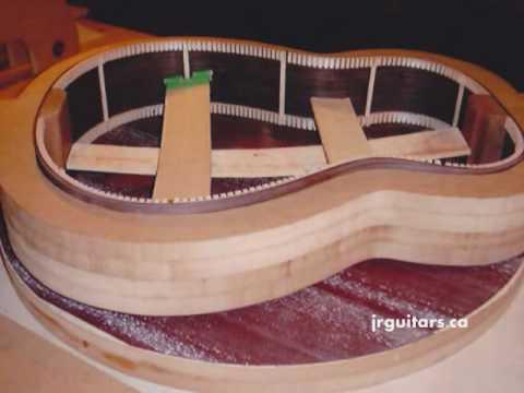 J.R. Guitars - Making an Acoustic Guitar
