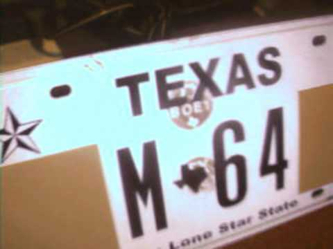 Texas License Plate Security Hologram Features