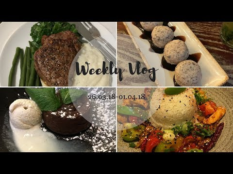 Weekly Vlog | Eating Out, Fall Out Boy & Bank Holiday🍷🍴