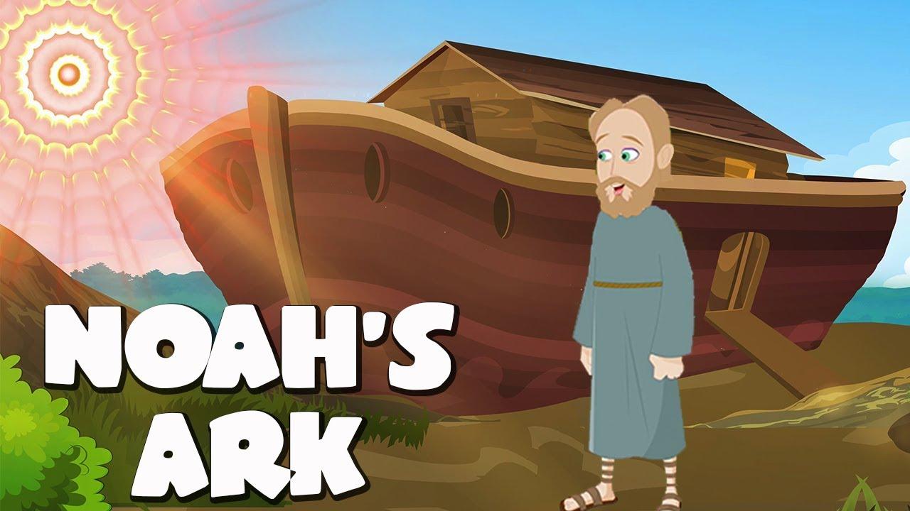 Download Noah's Ark Bible Story For Kids - ( Children Christian Bible Cartoon Movie )| The Bible's True Story MP3 Gratis