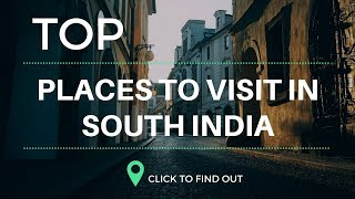 Top 5 Tourism Place In South India...!! Tourism of India...!!