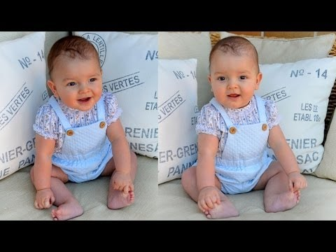 SEWING TUTORIAL: Sew a newborn baby dungarees