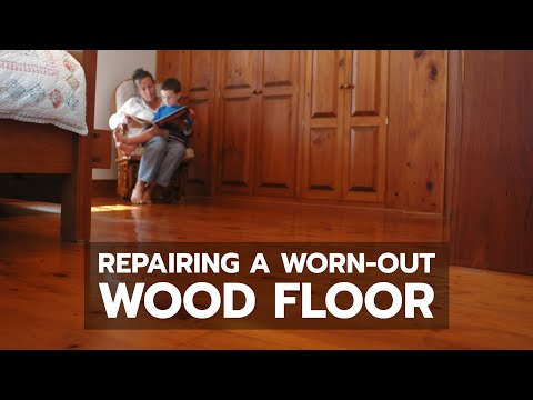 HOW-TO: Repairing a Worn-Out Wood Floor