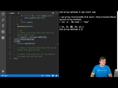 Using the JavaScript map Array Method
