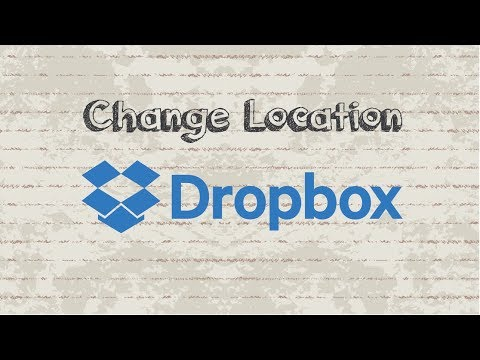 How to Change Dropbox Folder Location in Windows