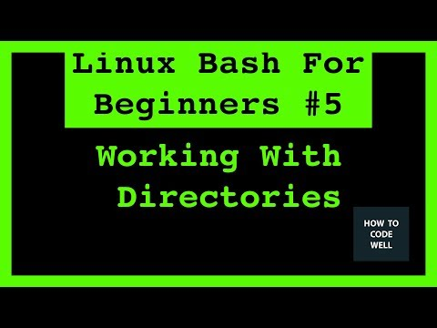 Linux Bash For Beginners Tutorial 5 Working With Directories