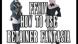 FFXIV: Character Creation (retainer)