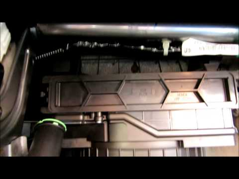 How to replace pollen cabin air filter on 2011-2015 Honda Odyssey