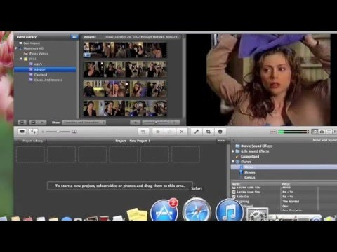 How to make your own Backgrounds on iMovie .