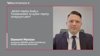 Mentzen: Duda podnosząc temat LGBT, zagrał na podział społeczny | #RZECZoPOLITYCE