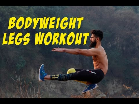 CALISTHENICS Legs Workout - Build Legs without Gym| Abhinav Mahajan