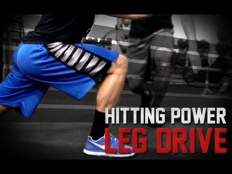 Baseball Hitting Power   Leg Drive   How To Hit Harder