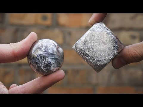 12 EXPERIMENTS WITH ALUMINIUM POLISHED FOIL BALL