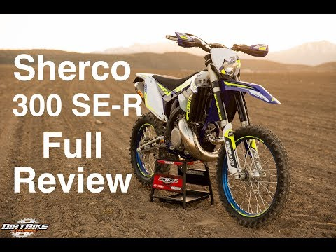 2017 Sherco 300 SE-R Real World Full Review   Episode 307