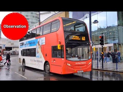 Buses in Birmingham   April 2018