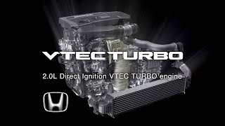 2018 Honda Accord 2.0L VTEC Turbo Engine with 10-speed Gearbox (US spec)