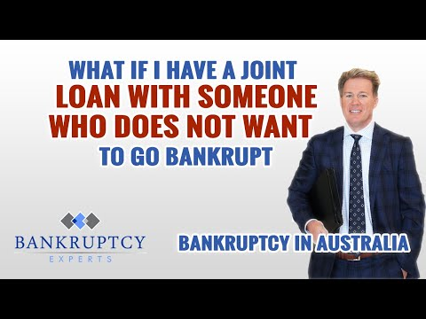 What if I have a Joint Loan or Someone is Guarantor for my loan can I still go Bankrupt?