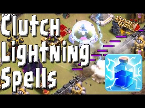 CoC - TH9 vs TH11 in War! 2 Stars NEEDED! Clutch Lightning Spells FTW! Clash of Clans