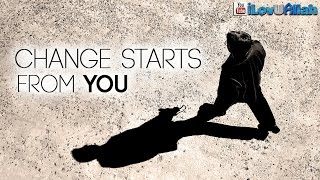 Change Starts From You ᴴᴰ | Beautiful Example