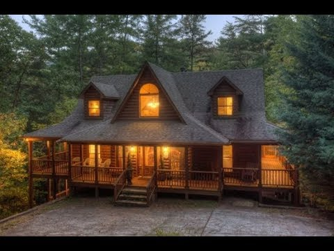 Blue Sky Cabin Rentals - River Glorious - Waterfront cabin with 3 bedrooms on Turniptown Creek