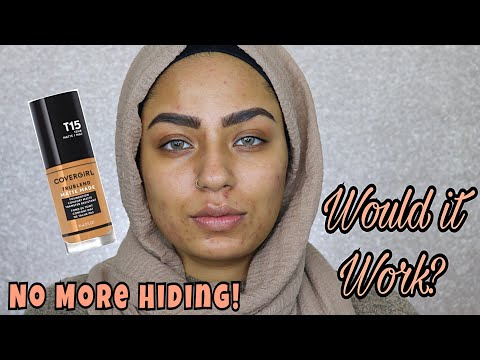 New Covergirl Tru Blend Matte Made Foundation Review & Demo!