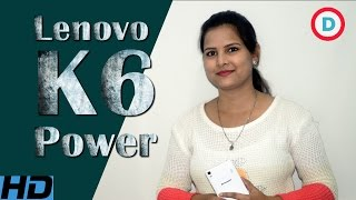 Lenovo K6 Power Detailed Specifications & Features, Launch Date In India - 29 Nov 2016, Not a Review
