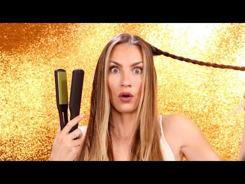Flat Iron Waves Hair Pinterest Hacks! Heated Braid Waves and Twist Waves from Pinterest Tested!