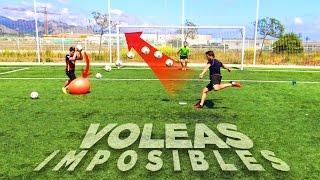 VOLEAS 99% IMPOSIBLES!!! ¡RETO FÚTBOL! PYR CHALLENGE