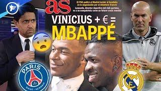 Le Real Madrid va sortir la carte Vinicius pour arracher Kylian Mbappé au PSG | Revue de presse