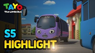 Tayo S5 Episode Highlight L Season 5 Trammy Gets Wheels! L Tayo The Little Bus