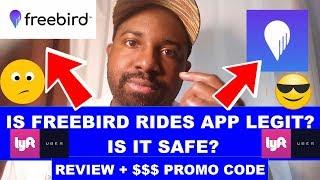 Is Freebird Rides App Legit Review - Freebird Rides App Promo Code Bonus