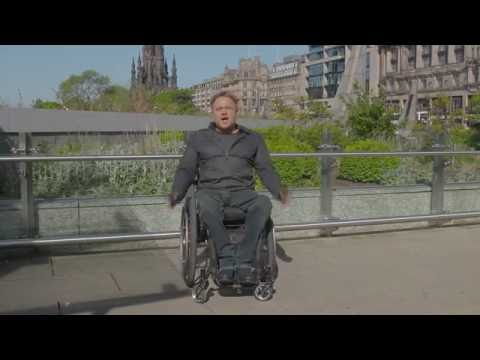 ScotRail accessibility Edinburgh - Glasgow (audio description)