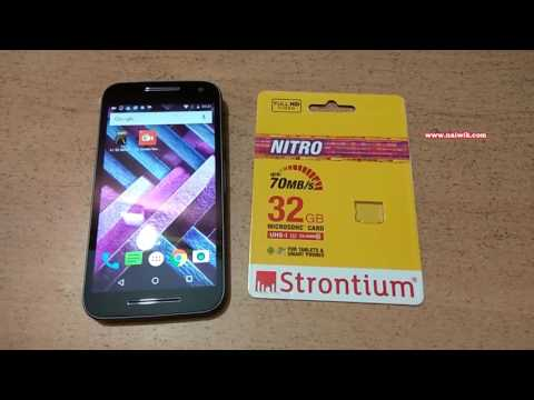 Strontium Nitro 32GB UHS-1 Class 10 microsd Memory card || Unboxing