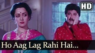 Aag Lag Rahi Hai  - Anil Kapoor  - Madhuri Dixit - Jamai Raja - Latest Bollywood Songs