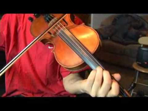 Violin G Harmonic Minor Scale: 2nd Scale Degree