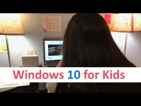 How To Setup Windows 10 for Kids