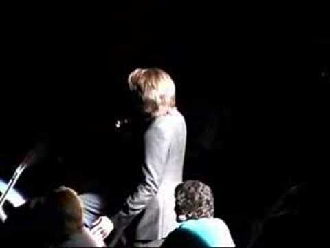 Clay Aiken dances with his Mom during Christmas Concert